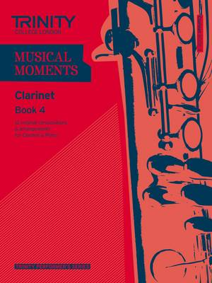 Musical Moments Clarinet by Trinity College London