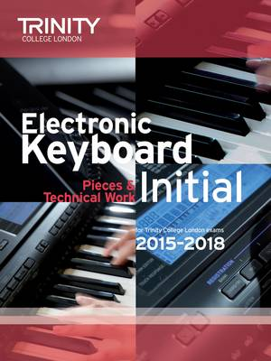 Electronic Keyboard Initial from 2015 by