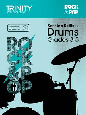 Session Skills for Drums Grades 3-5 by Trinity College London