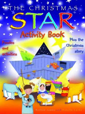 The Christmas Star Activity Book by Bethan James
