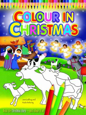 Colour in Christmas by Jan Godfrey