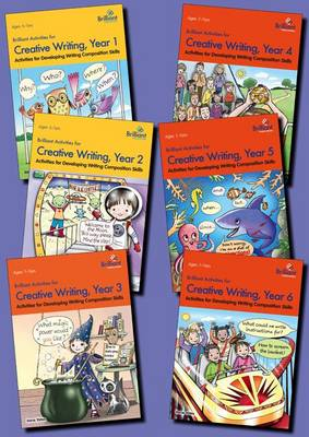 Brilliant Activities for Creative Writing Series Pack by Irene Yates