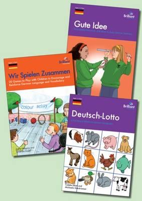 German Games Pack by Colette Elliott, Michaela Greck-Ismair, Nicolette Hannam, Michelle Williams