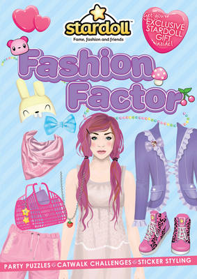 Stardoll: The Fashion Factor Sticker Activity Book by Stardoll