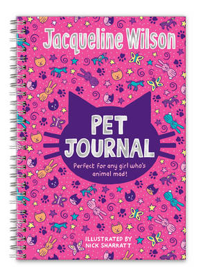 Jacqueline Wilson Pet Journal by Jacqueline Wilson