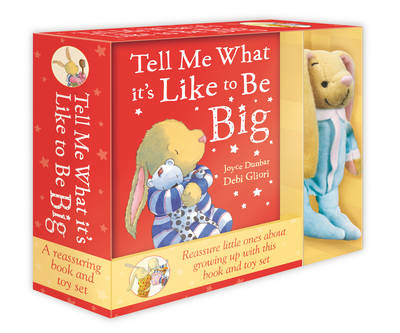 Tell Me What it's Like to be Big Book & Toy Set by Joyce Dunbar