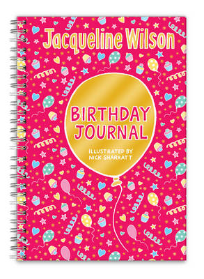 Jacqueline Wilson Birthday Journal by Jacqueline Wilson