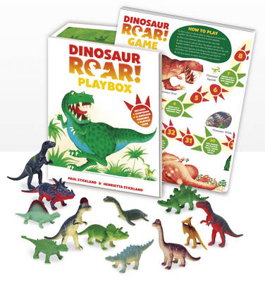 Dinosaur Roar! Playbox by Henrietta Stickland