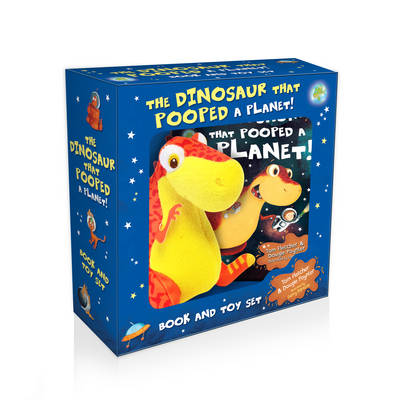 The Dinosaur That Pooped a Planet Book & Toy Boxset by Dougie Poynter, Tom Fletcher