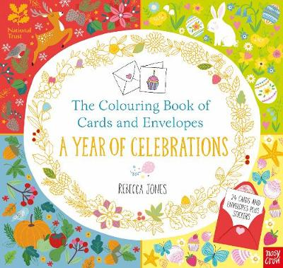The National Trust: The Colouring Book of Cards and Envelopes - A Year of Celebrations by