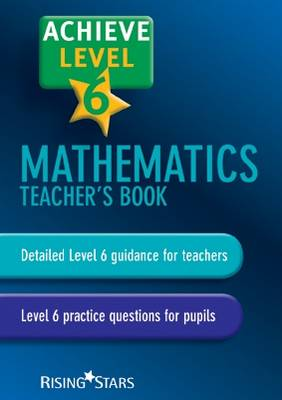 Achieve Mathematics Teacher's Book by