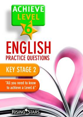 Achieve Level 6 English Practice Questions Pupil Book by