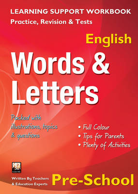 Words & Letters, Pre-school (English) Home Learning, Support for the Curriculum by
