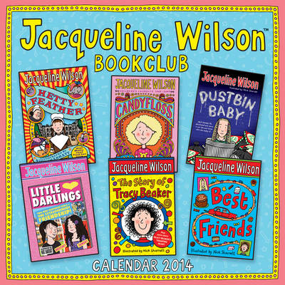 Jacqueline Wilson Book Club Wall Calendar 2014 by