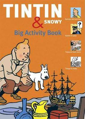 Tintin And Snowy Big Activity Book by Guy Harvey, Simon Beercroft
