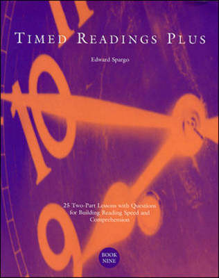 Timed Readings Plus Book Eight by Edward Spargo