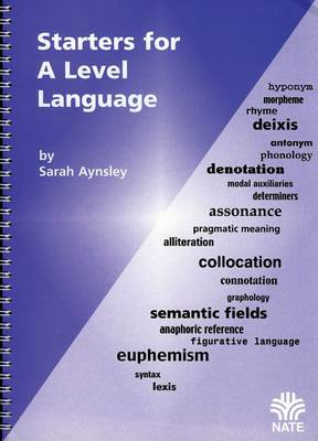 Starters for a Level Language by Sarah Aynsley