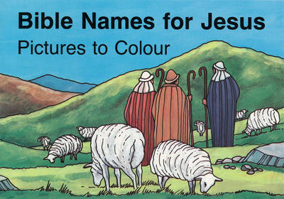 Bible Names for Jesus Colouring Book by MacKenzie Carine, Standard Publishing