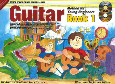 Progressive Guitar Method for Young Beginners by Andrew Scott, Gary Turner