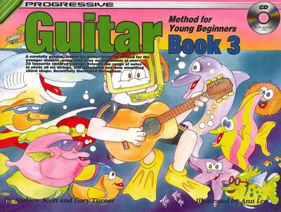 Progressive Guitar for Young Beginners Book 3 / CD Pack by