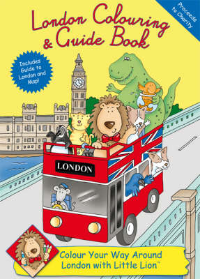London Colouring and Guide Book by Rachel Thomas