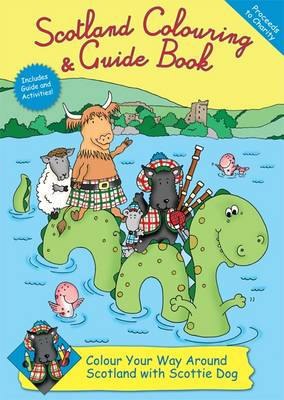 Scotland Colouring & Guide Book by Rachel Thomas