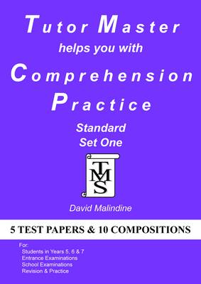 Tutor Master Helps You with Comprehension Practice Standard Set One by David Malindine