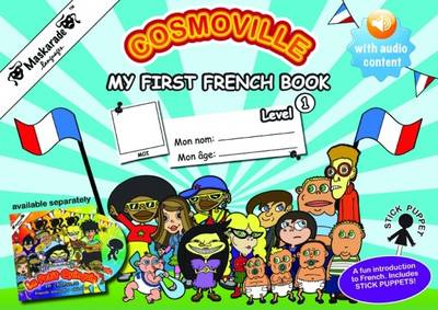 My First French Book: Level 1  French Acitivty Book by Coralie Albrecht, Emmanuelle Fournier-Kelly, Coralie Albrecht