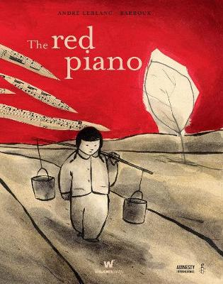 The Red Piano by Andre Leblanc