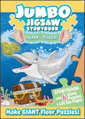 Jumbo Jigsaw Storybook Dolphins Discovery by Mark Shulman, Lawrence Christmas