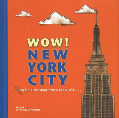 Wow! New York City Imagine a City Built with a Paper Clip ... by Puck