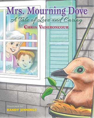 Mrs. Mourning Dove by Chris Vadeboncour