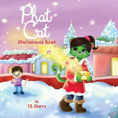Phat Cat Christmas Brat Sozo Keys by T S Cherry