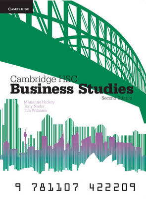 Cambridge HSC Business Studies 2ed Pack by Tim Williams, Tony Nader, Marianne Hickey
