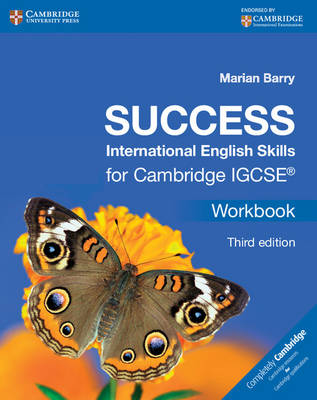 Success International English Skills for Cambridge IGCSE Workbook by Marian Barry