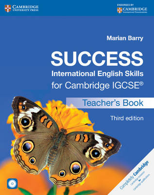 Success International English Skills for Cambridge IGCSE Teacher's Book with Audio CD by Marian Barry