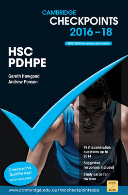 Cambridge Checkpoints HSC Personal Development, Health and Physical Education 2016-18 by Gareth Hawgood, Andrew Ponsen