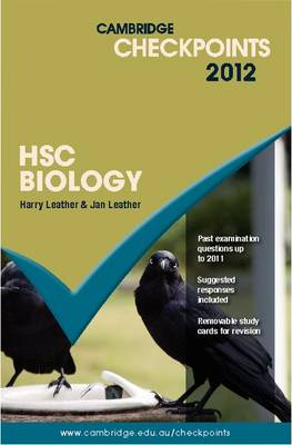 Cambridge Checkpoints HSC Biology 2012 by Harry Leather, Jan Leather