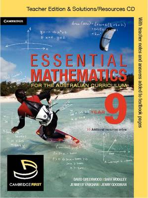 Essential Mathematics for the Australian Curriculum Year 9 Teacher Edition by Michael Cujes, Jenny Goodman, Kevin McMenamin, Rachael Miller