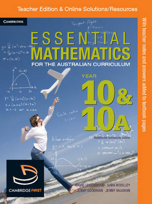 Essential Mathematics for the Australian Curriculum Year 10 Teacher Edition by Jenny Goodman, Kevin McMenamin, Rachael Miller, Leanne Blood