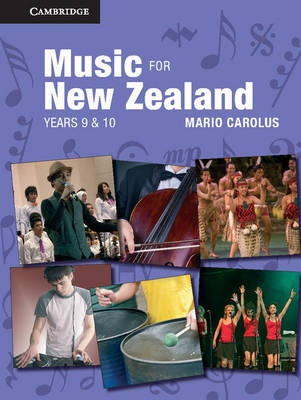 Music for New Zealand Years 9 and 10 by Mario Cornelius Carolus
