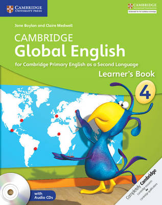 Cambridge Global English Stage 4 Learner's Book with Audio CDs (2) by Jane Boylan, Claire Medwell