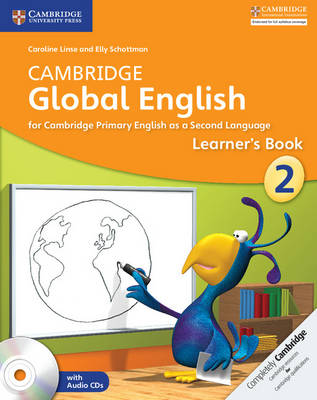 Cambridge Global English Stage 2 Learner's Book with Audio CDs (2) by Caroline Linse, Elly Schottman