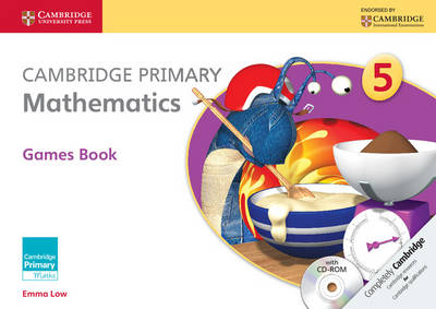 Cambridge Primary Mathematics Stage 5 Games Book with CD-ROM by Emma Low, Mary Wood