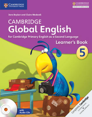 Cambridge Global English Stage 5 Learner's Book with Audio CDs (2) by Jane Boylan, Claire Medwell