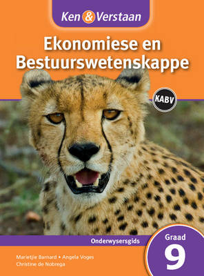 Study and Master Economic and Business Management Grade 9 for CAPS Teacher's Guide Afrikaans Edition by Marietjie Barnard, Angela Voges, Christine de Nobrega