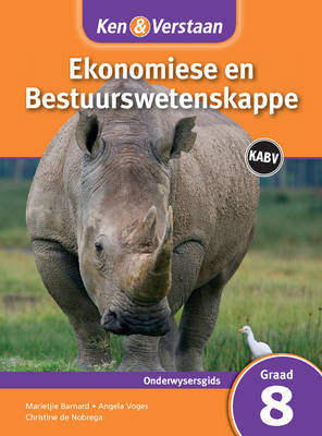 Study and Master Economic and Business Management Grade 8 for CAPS Teacher's Guide Afrikaans Edition by Marietjie Barnard, Angela Voges, Christine de Nobrega