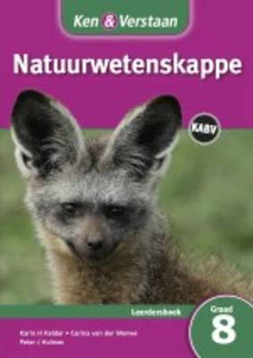 Study and Master Natural Sciences Grade 8 CAPS Learner's Book Afrikaans Translation by Karin H. Kelder, Carina van der Merwe