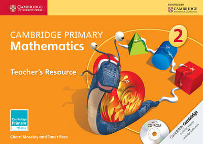 Cambridge Primary Mathematics Stage 2 Teacher's Resource with CD-ROM by Cherri Moseley, Janet Rees