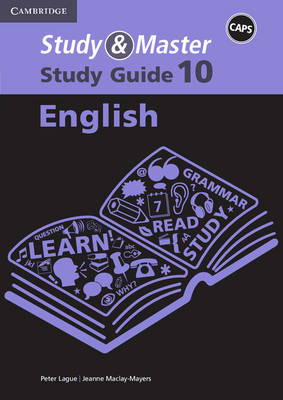 Study and Master English Grade 10 CAPS Study Guide by Jacqueline de Vos, Jeanne Maclay-Mayers